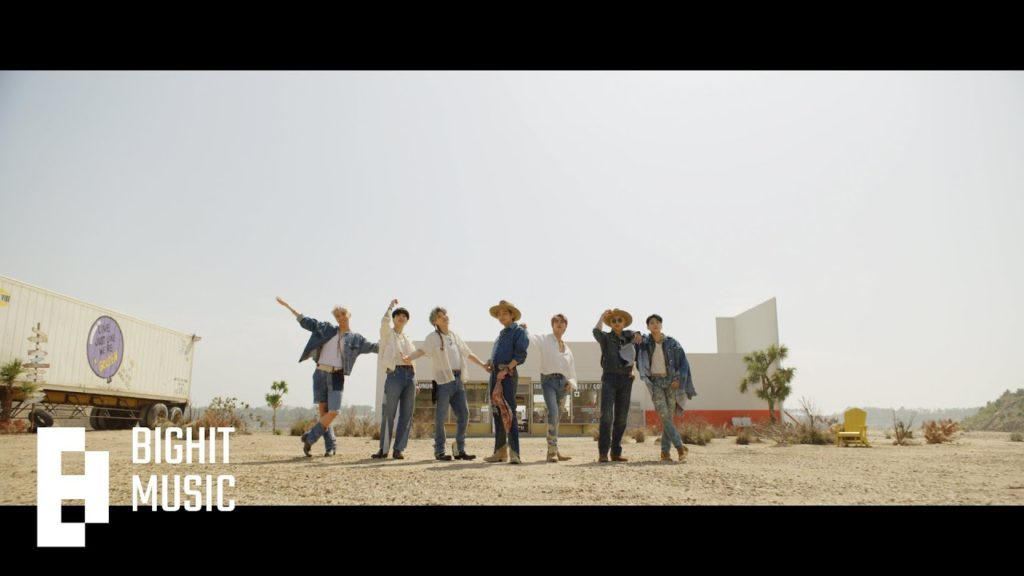 BTS - Permission To Dance Chords
